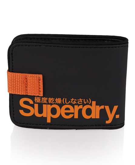 Superdry Small Tarp Wallet Black