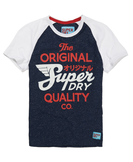 Superdry Quality Co T-shirt Navy