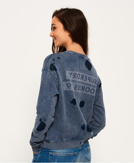 Superdry Distress Boxy sweatshirt