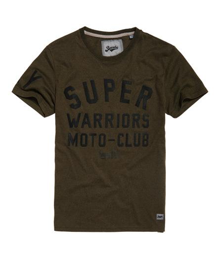 Superdry Superdry Warriors biker T-shirt