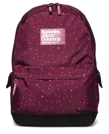 purple Superdry Moonlight Montana Rucksack