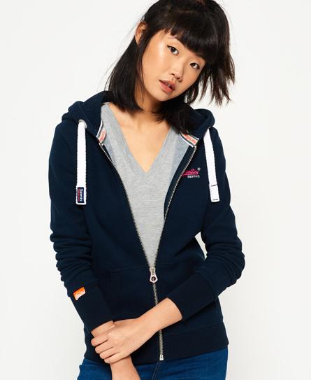 Orange Label Primary Zip hoodie