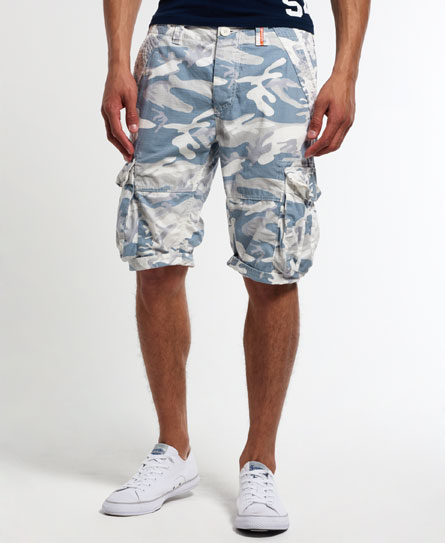 superdry camo ripstop lite shorts herren shorts. Black Bedroom Furniture Sets. Home Design Ideas