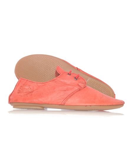 Superdry Natalia Lace-up Shoe Red
