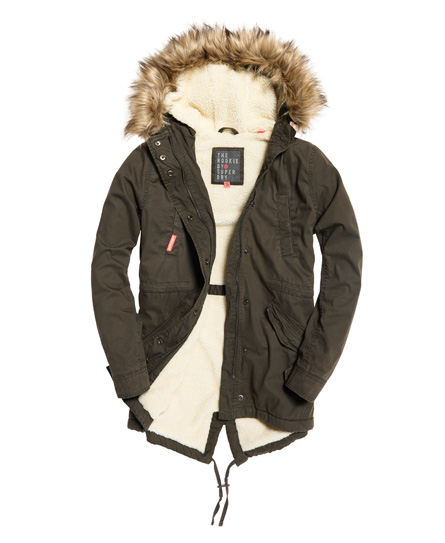 Superdry Heavy Weather Rookie Fishtail Parka