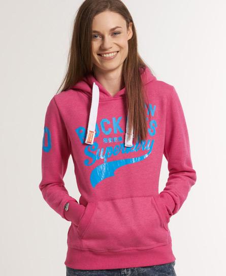 Superdry Sportspitch Hoodie Pink