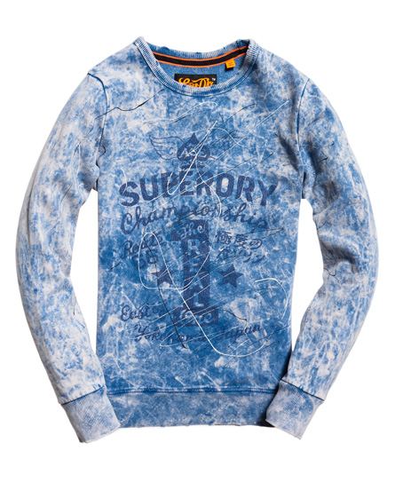 Superdry Motor City Crew Neck Sweatshirt