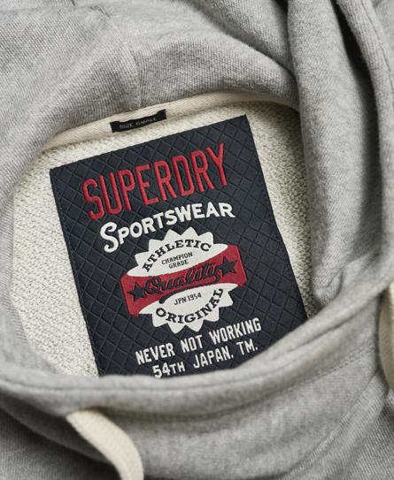Superdry Marl Crop Hoodie