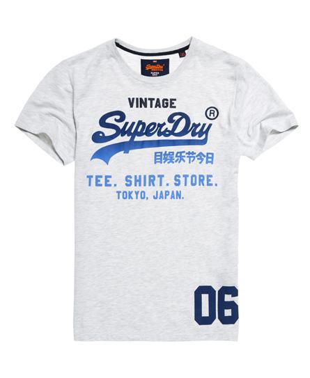 ice marl Superdry Shirt Shop Fade T-shirt