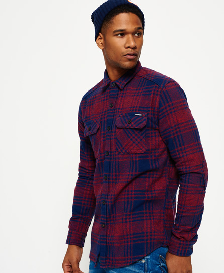 Superdry Superdry Milled Flannel skjorte