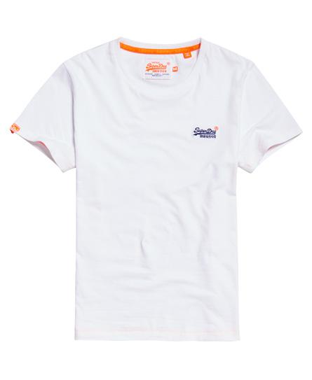 Superdry ORANGE LABEL VINTAGE - Top - white E0R0mG