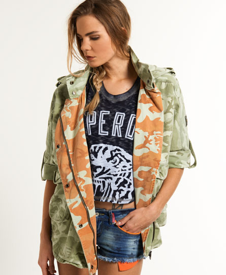 Superdry Super Parka Green