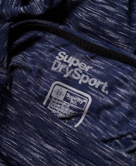 Superdry Sport Twist Hooded Running Top