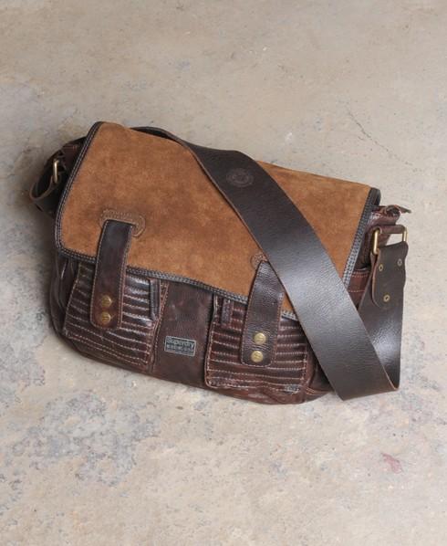 Superdry Salinger Bag Brown
