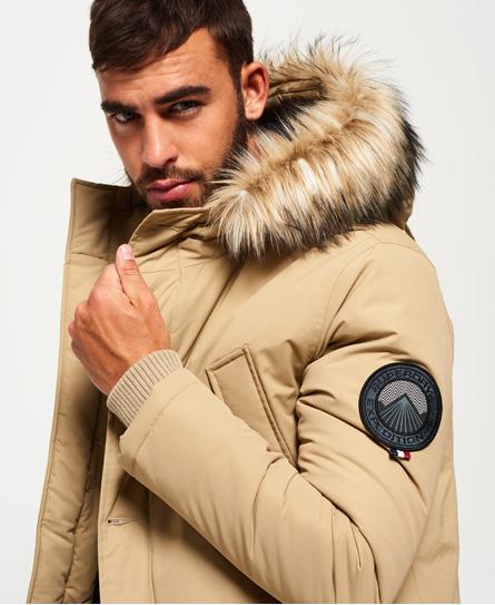 Superdry Faux Fur Trimmed Everest Coat