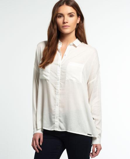Superdry Superdry Ava Boyfriend skjorte