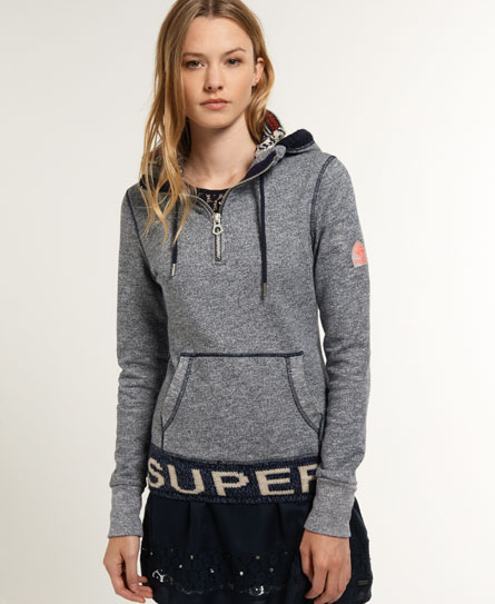 Superdry Sunscorched Hoodie Navy