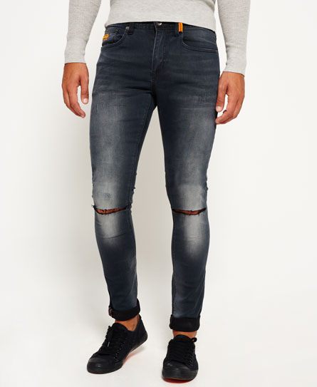 superdry super skinny ripped jeans men 39 s jeans. Black Bedroom Furniture Sets. Home Design Ideas