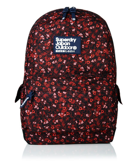 berry Superdry Scatter Ditsy Montana Rucksack