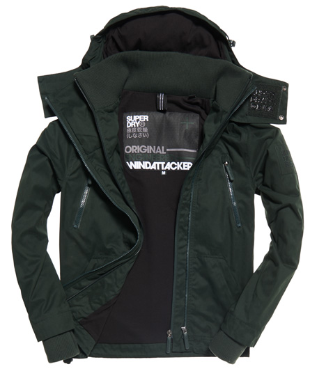 Superdry Microfibre Hooded SD-Windattacker