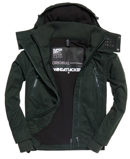 Superdry Superdry Microfibre SD-Windattacker jakke med hætte