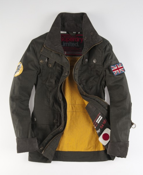 Superdry Transcontinent Jacket Green