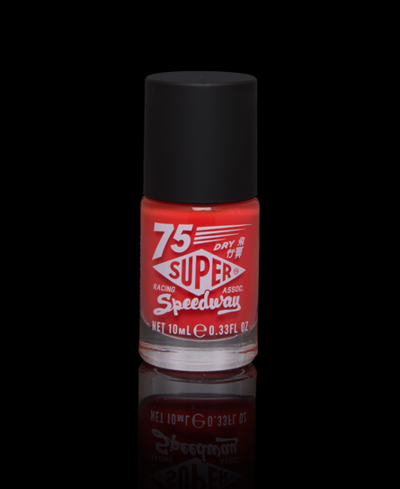 Superdry Nail Paint Orange