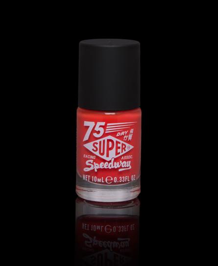 Superdry Nail Paint Orange