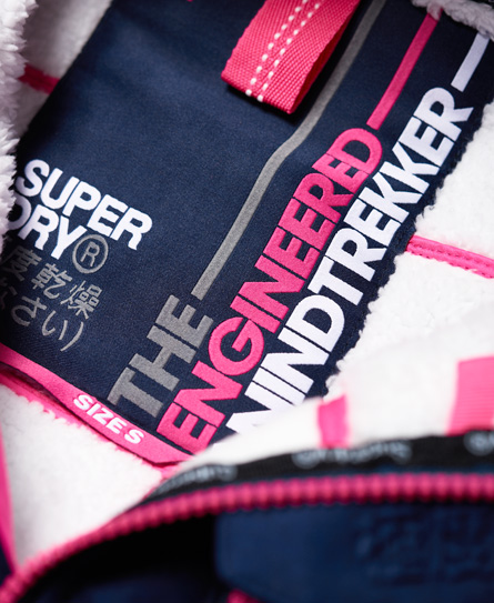 Superdry Hupullinen Sherpa SD-Windtrekker -takki