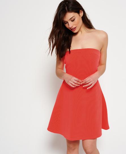 Se Superdry Superdry East Side Bardot kjole ved SuperDry