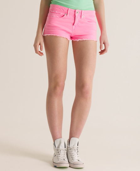 Superdry Rockabilly Cut-off Short Pink