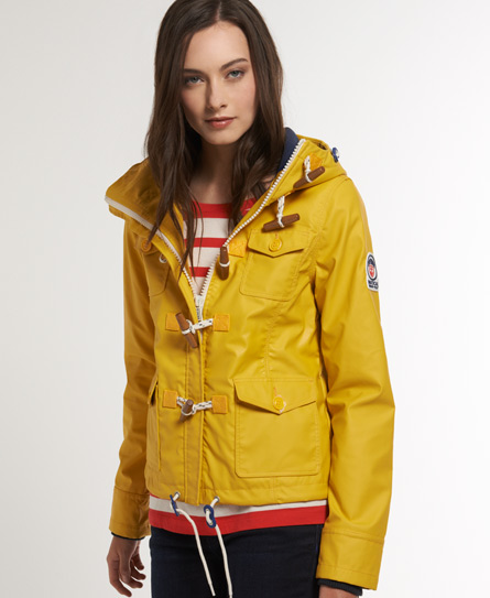 Womens - Boat Duffle in Trawler Yellow | Superdry
