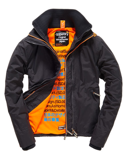 superdry polar impact windcheater jacke herren jacken. Black Bedroom Furniture Sets. Home Design Ideas