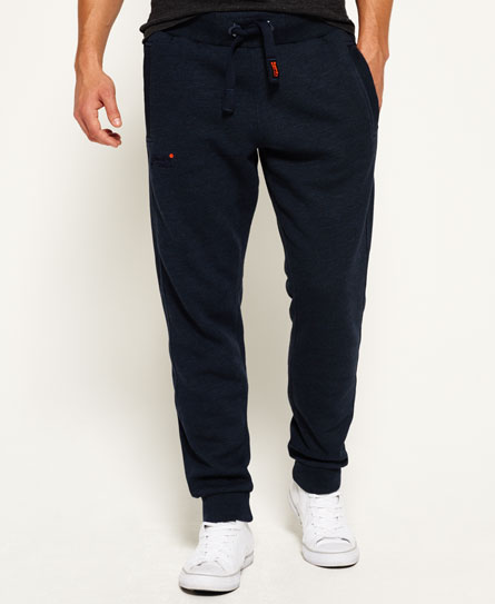 deep indigo slub Superdry Orange Label Moody Jogginghose