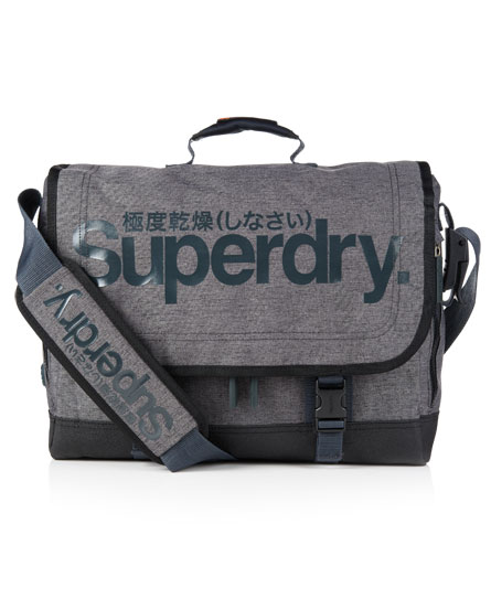 Superdry Gel Tarp Laptop Bag Grey
