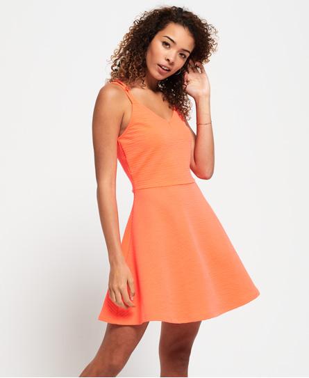 Superdry Textured Skater Cami-kjole