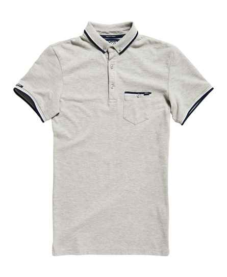 Superdry City Tipped Field Polo Shirt