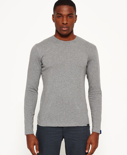 Superdry Refined T-shirt  Grey