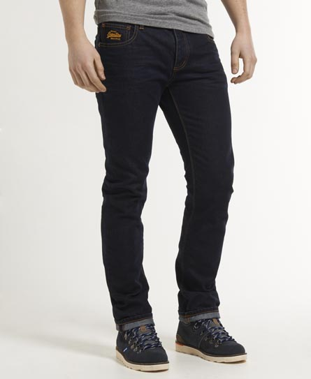 Superdry Officer Slim Jeans Navy