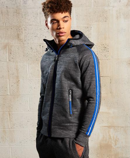 Superdry Gym Tech Slimspeed hættetrøje med lynlås