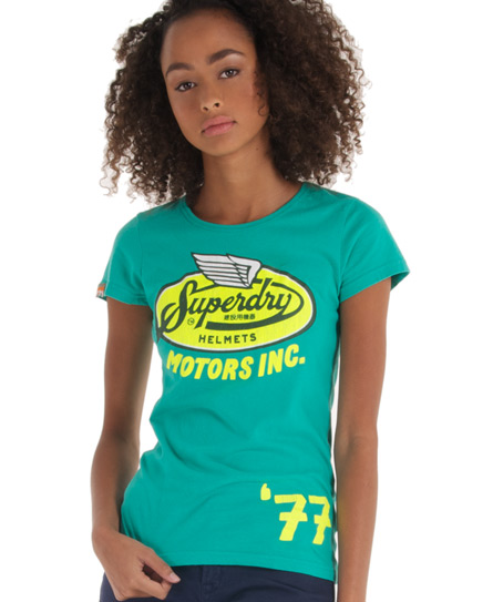 Superdry Crashlid T-shirt Green