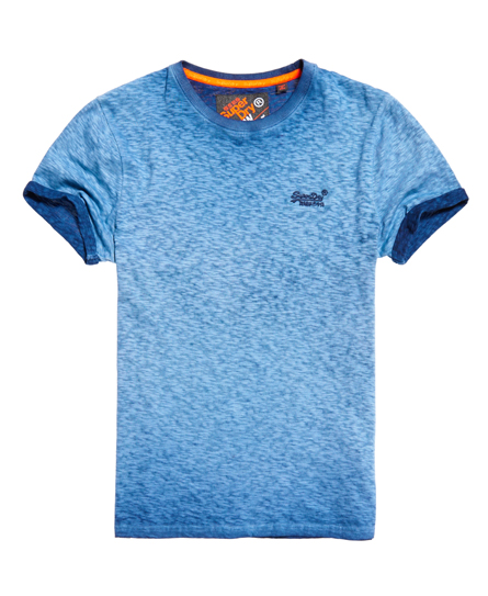 Superdry Low Roller T-shirt Navy