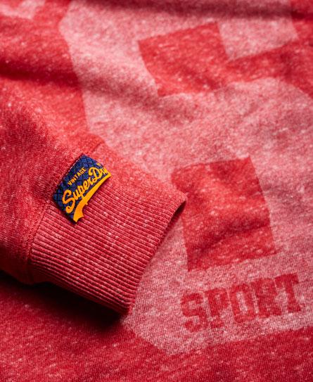 Superdry Osaka Sport Cropped Marl Hoodie