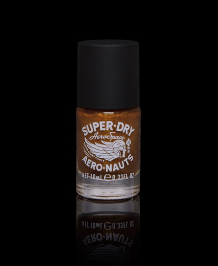 Superdry Nail Paint Gold