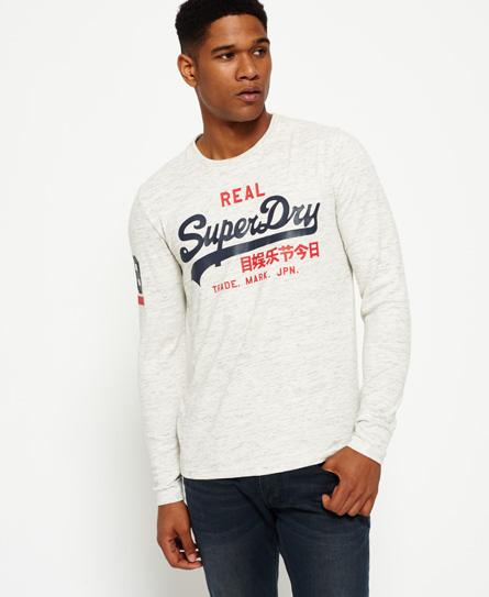 urban eis gesprenkelt Superdry Vintage Logo Duo T-Shirt
