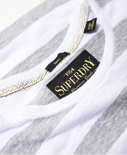 Superdry T-shirt à rayures Vintage Logo