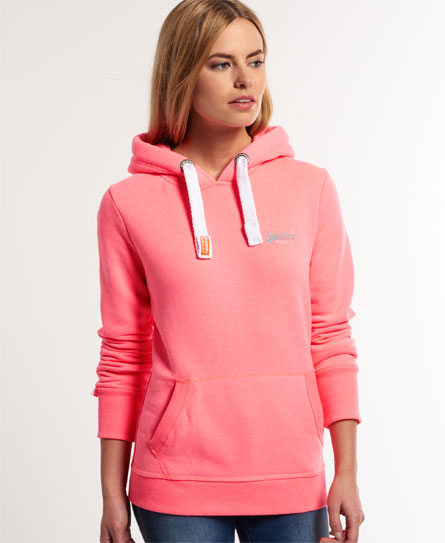 superdry orange label hoodie women 39 s hoodies. Black Bedroom Furniture Sets. Home Design Ideas