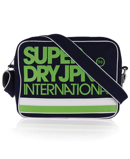 Superdry International Alumni Bag Navy