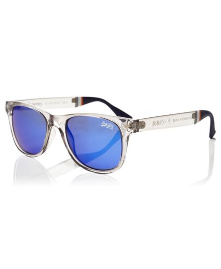 glÄnzend grau kristall/blau revo Superdry Superfarer Sonnenbrille