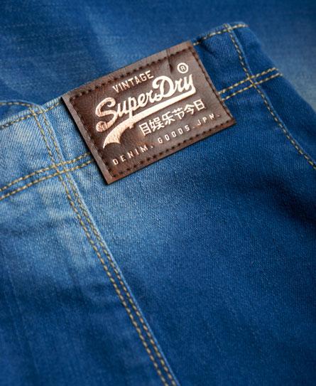 Superdry 70-talls denimskjørt